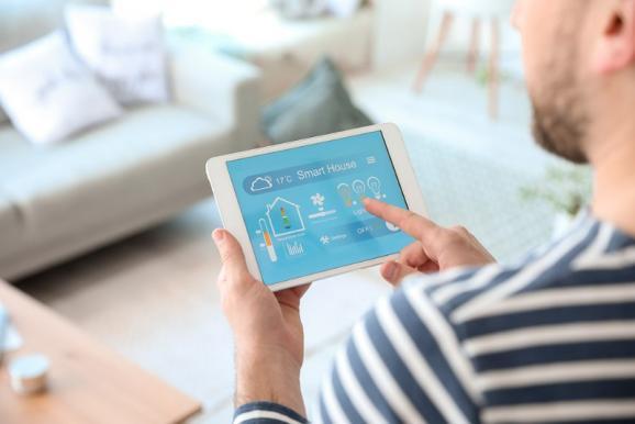 Smart House sur tablette